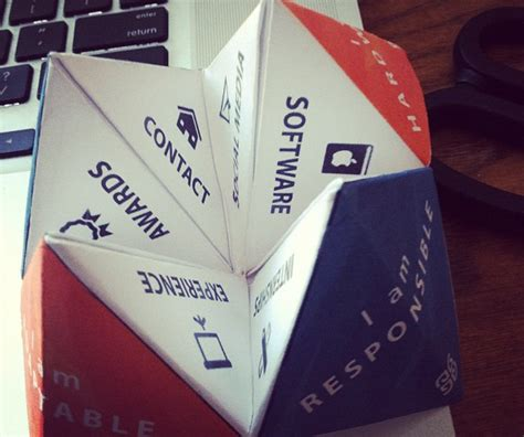 Origami Cv - 23 cool resumes we found on instagram business insider