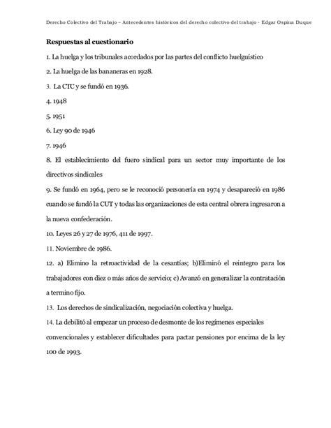 convenio colectivo de trabajo n 306 98 derecho de la antecedentes hist 243 ricos del derecho colectivo del trabajo