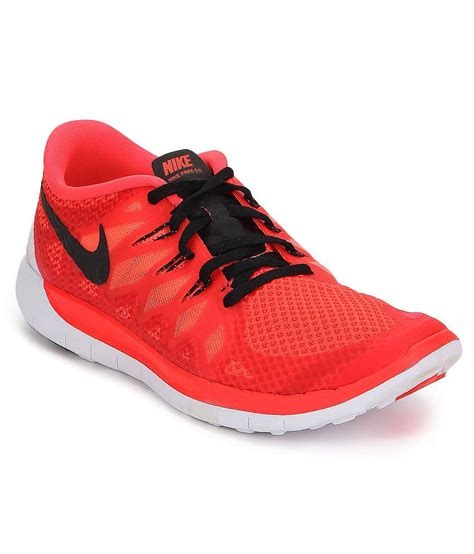 nike free 5 orange sports shoes for price in india