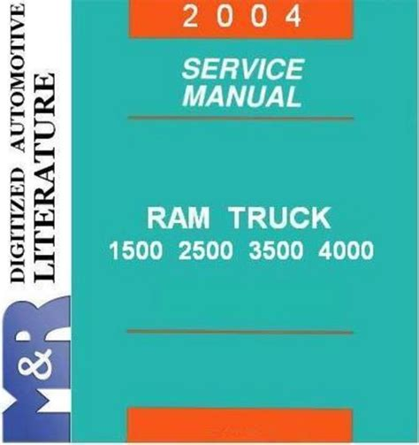 car repair manual download 2004 dodge ram 1500 interior lighting 2004 dodge ram dr 1500 2500 3500 service shop manual downl