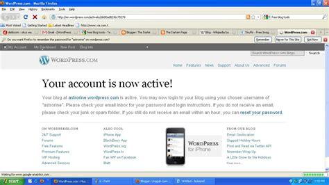 cara membuat blog di aplikasi wordpress cara membuat blog di wordpress sigit priyono