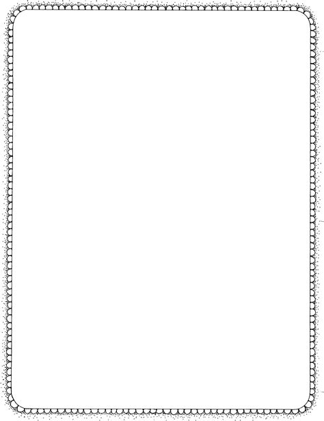 black and white border cards template mormon scallop border