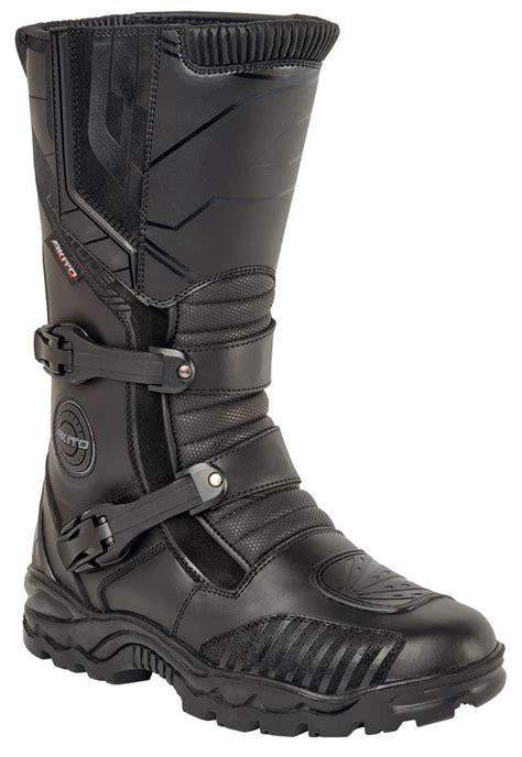 motorcycle road boots online akito latitude adventure waterproof motorcycle off road
