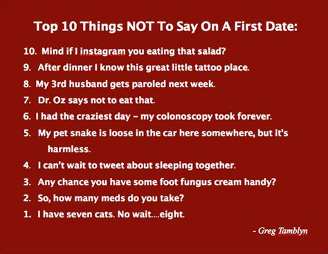 10 Ways To Impress Someone On A Date by Top 30 Dating Quotes