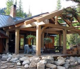 house on lot 2b covered timber frame patio moose creek e flickr photo
