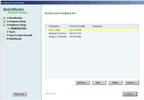 quickbooks tutorial payroll setup quickbooks payroll bulletin