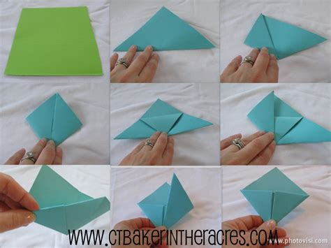 How To Make Origami Bookmarks - ctbaker in the acres 14 lovely days day 2