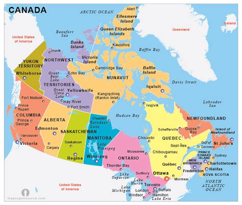 canadian mapquest directions free canada political map political map of canada