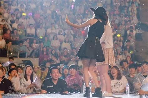 iu  scolded  stage   fan    gained