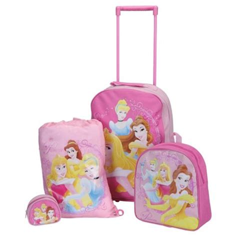 buy disney princess 4 piece kids luggage set from our