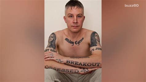 man with 29 miley cyrus tattoos says they re ruining his