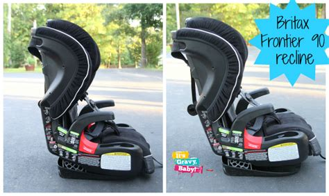 Britax Frontier 90 Recline by Britax Frontier 90 Harness 2 Booster Carseat Review