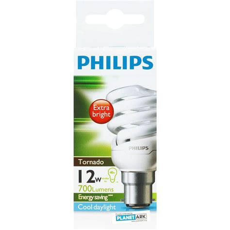 Lu Philips Tornado 32 Watt philips cfl tornado cool daylight 12w bc base each