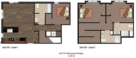 Fireplace Floor Plan by Pricing And Unit Floor Plans Liveonmills