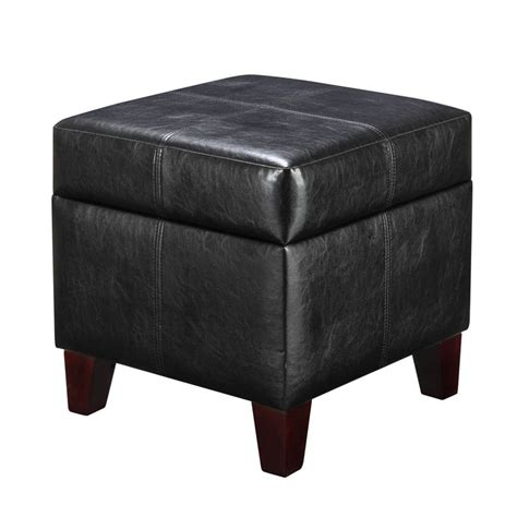 small ottoman storage best 25 small storage ottoman ideas on