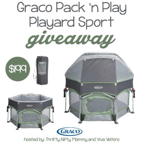 Graco Giveaway - graco pack n play playard sport giveaway