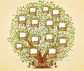 cool family tree template 21 cool family tree illustration vectors desiznworld