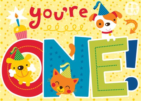 printable birthday cards for one year old bora illustraties februari 2012