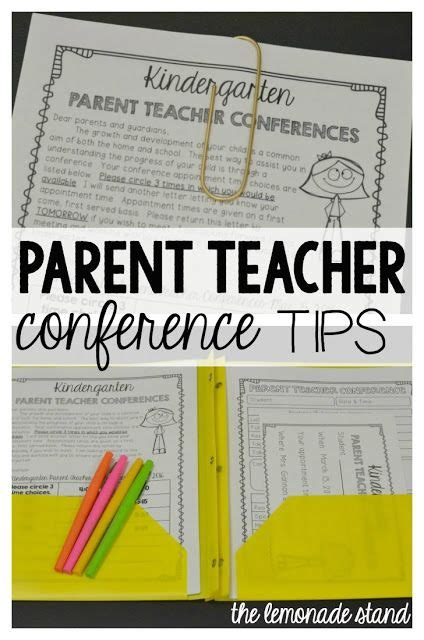 the fabulous first grade parent teacher conferences made easy