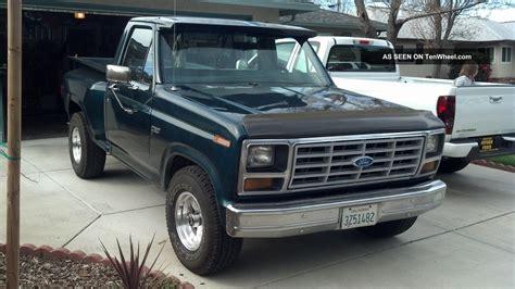 Two Door Trucks by 1983 Ford F 150 2 Door 4 9l
