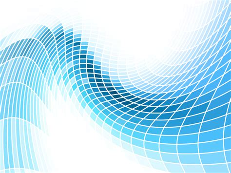Abstract Blue Waves PPT Backgrounds   Abstract, Blue
