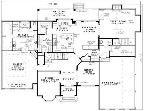floor plans to scale on a grand scale 5950nd architectural designs house