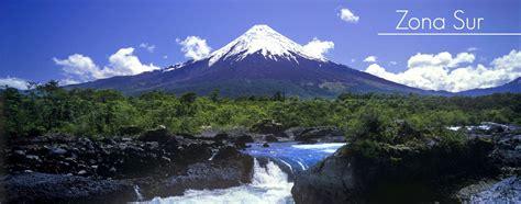 imagenes zonas naturales de chile geografia turistica chile zona sur