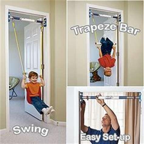 we swing too rainy day kids indoor swing doorway trapeze bar kit huh