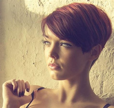short pixie haircuts with asymmetrical bangs front and side view best pixie cuts of 2013 short pixie haircuts pinterest