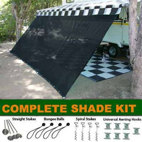 complete rv awning black rv awning shade complete kit 10 x 16 sun shade canopy shelter rv awnings