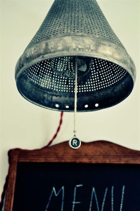 Colander Light Fixture 171 Best Images About Repurposing Restaurant Supplies On Pinterest