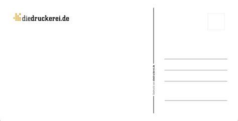 Postkarten Frankiert Drucken by Postkarten Vorlagen F 252 R Die R 252 Ckseite