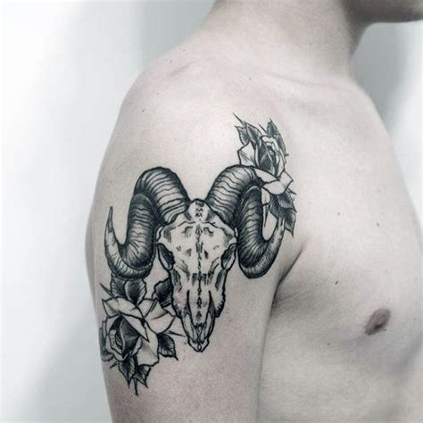 100 goat tattoo designs for men ink ideas with horns