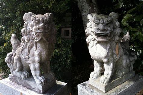shisa dogs image gallery okinawa shisa dogs statues