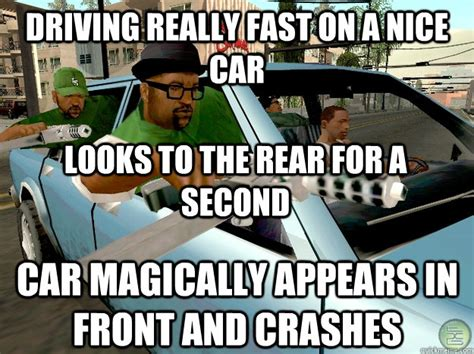 Driving School Meme - spend 9500 customizing a car run it into the ocean gta