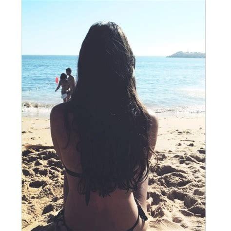 black hair for the beach instagram image 3353836 by winterkiss on favim com
