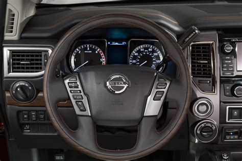 nissan titan cummins interior new nissan titan to feature cummins power truck news