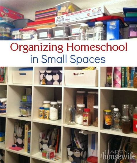 organizing small spaces tight on space for homeschool supplies see ideas to get