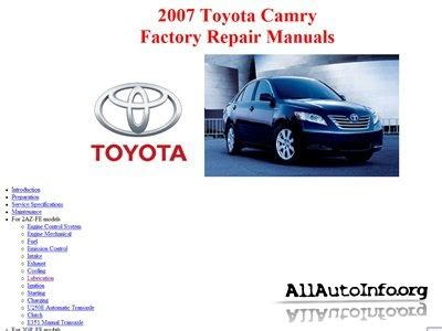 free online car repair manuals download 1993 toyota celica regenerative braking free download of 2007 toyota camry owners manual toyota camry repair manual pdf toyota camry