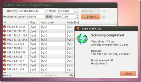 scan ip address scan and identify active hosts on a network angry ip scanner