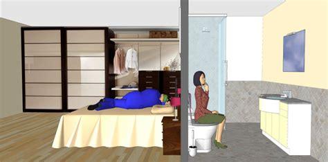 bagni in da letto da letto troppo vicina al bagno architettura a