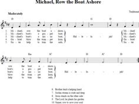 michael row the boat ashore noten klavier row row row your boat treble clef sheet music for c