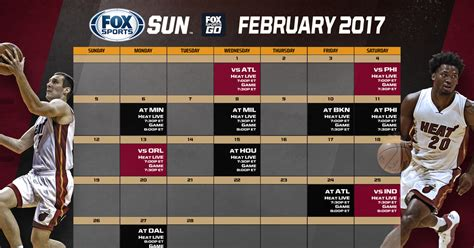 miami heat tv schedule fox sports