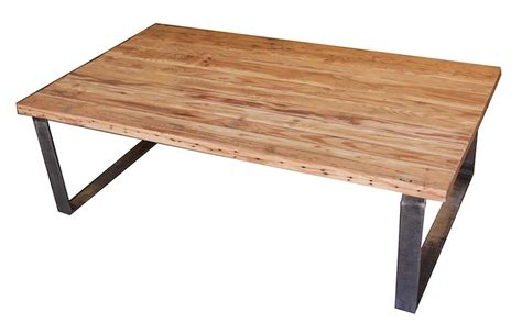 Reclaimed Wood And Metal Coffee Table Industrial Metal And Wood Coffee Table With Drawers