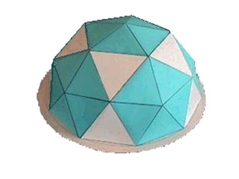 How To Make A Paper Geodesic Dome - construct a dome