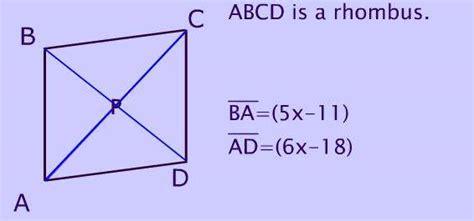 parallelogram diagram rhombus picture