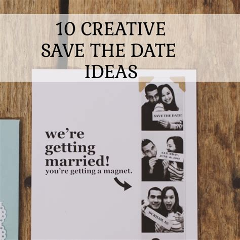 Save 10 On Langleys Designs by 10 Creative Save The Date Ideas You Ll
