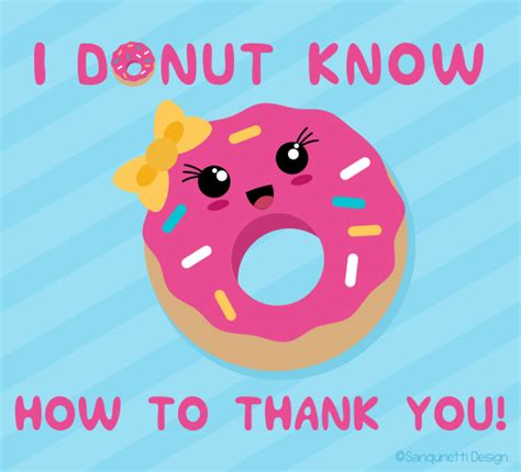free thank you card templates donut donut how to thank you free for everyone ecards
