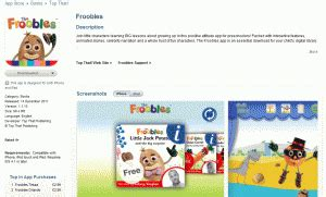 The Froobles Apps Apple the froobles theboyandme