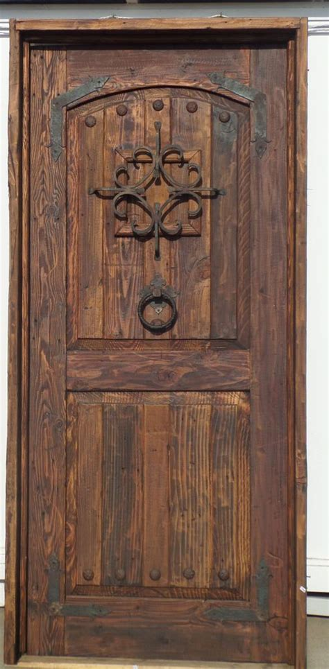 Knotty Pine Exterior Doors Rustic Knotty Pine Door Reclaimed Lumber Exterior W Jamb Threshold Speakeasy My Lovely Home